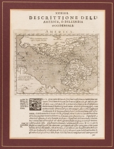Magini, Giovanni: Map of North and South America