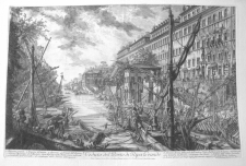 Piranesi, Giovanni: THE HARBOUR CALLED THE RIPA GRANDE. Year 1753