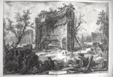 Piranesi, Giovanni: THE BATHS OF TRAJAN (ERRONEOUSLY CALLED BATHS OF TITUS), Year 1776