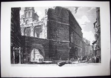 Piranesi, Giovanni: THE FORUM OF NERVA, Year 1757
