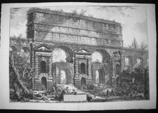 Piranesi, Giovanni: THE PORTA MAGGIORE, ORIGINALLY AN ARCHWAY OF THE ACQUA CLAUDIA, Year 1775