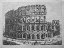 Rossini, Luigi: THE COLOSSEUM, Year 1821
