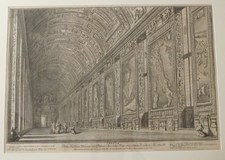 Vasi Giuseppe: Gallery of the Maps in the Vatican Palace, Year 1765